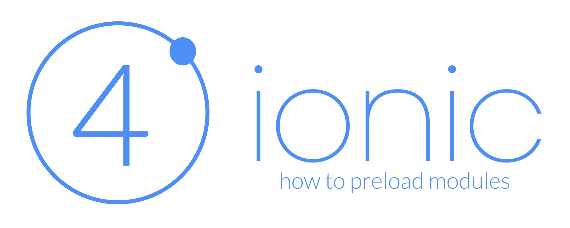 Advanced preloading for Ionic/Angular modules