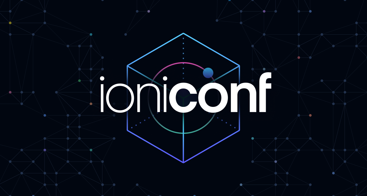 Ioniconf 2021, June 23rd